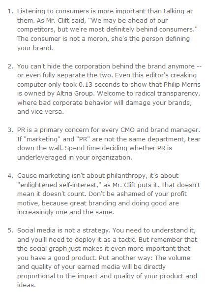 Five new rules for marketing