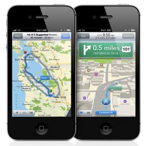 Apple ios 6 map